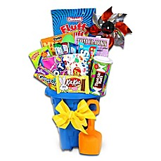 image of Alder Creek Jumbo Easter Treats Sand Pail Gift Basket