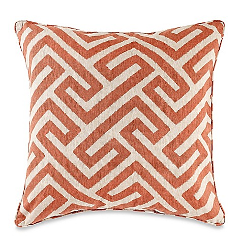 Make Your Own Decorative Pillow Covers : Make-Your-Own-Pillow Keyes Square Throw Pillow Cover in Spice - Bed Bath & Beyond