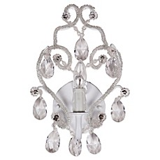 image of Tadpoles™ by Sleeping Partners Chandelier Sconce in White