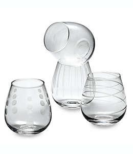 Copas sin tallo para vino de vidrio Mikasa® Cheers, 414.02 mL, Set de 4 pzas.