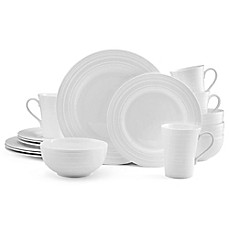 image of Mikasa® Ciara 16-Piece Dinnerware Set in White