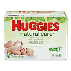 image of Huggies® 552-Count Natural Care® Wipes