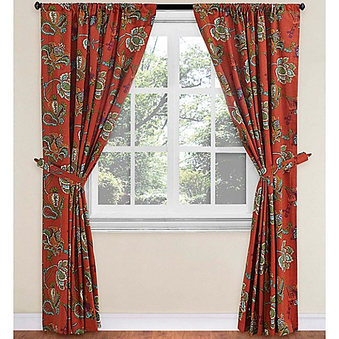 World Market Tatiana Lined Rod Pocket Window Curtain Panel Bed Bath Beyond