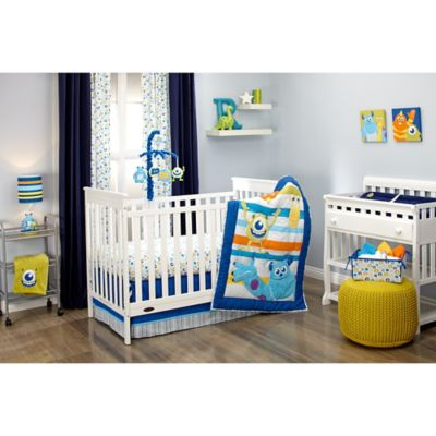 Disney Monsters At Play Crib Bedding Collection