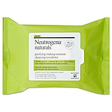 image of Neutrogena® 25-Count Naturals Purifying Makeup Remover Cleansing Towelettes