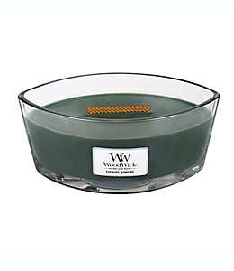 Vela en vaso de vidro Evening Bonfire WoodWick® HearthWick Flame®