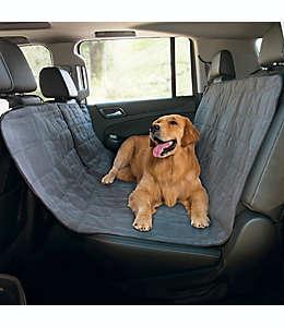 Protector de poliéster Pawslife™ acolchado para asiento de carro tipo hamaca color gris