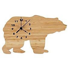 image of Trend Lab® Northwoods Bear Wall Clock