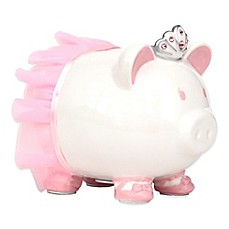 image of Piggy Bank with Swarovski® Accents