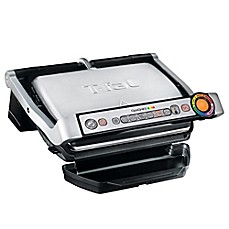 image of T-Fal® OptiGrill+™ Stainless Steel Indoor Electric Grill