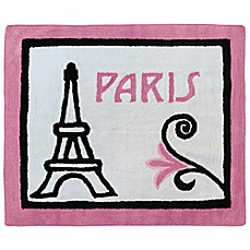 image of Sweet Jojo Designs Paris 30-Inch x 36-Inch Accent Rug