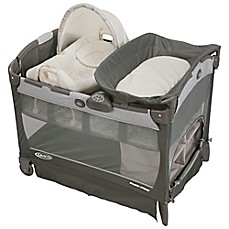 image of Graco® Pack 'n Play® Playard with Cuddle Cove™ Removable Seat in Glacier™