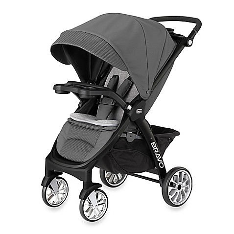 Chicco 174 Bravo Le Stroller In Coal Buybuy Baby