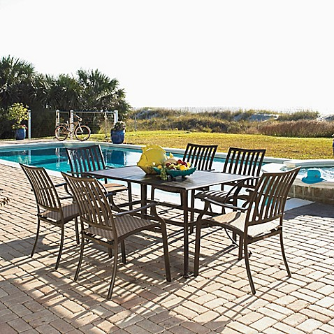 piece outdoor dining set the island breeze outdoor dining set by