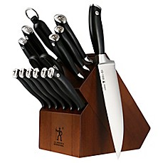image of J.A. Henckels International Forged Elite 15-Piece Knife Block Set