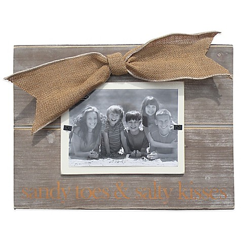 Mud Pie 174 Sandy Toes Quot 3 Inch X 5 Inch Picture Frame Bed