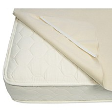 Naturepedic Organic Cotton Waterproof Protector Pad With Straps