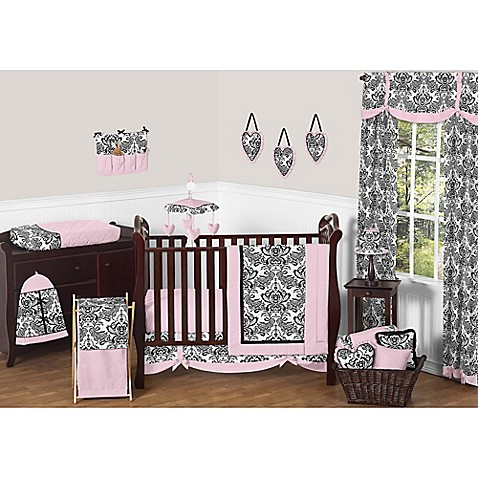 Sweet jojo designs sophia 11 piece crib bedding set bed bath