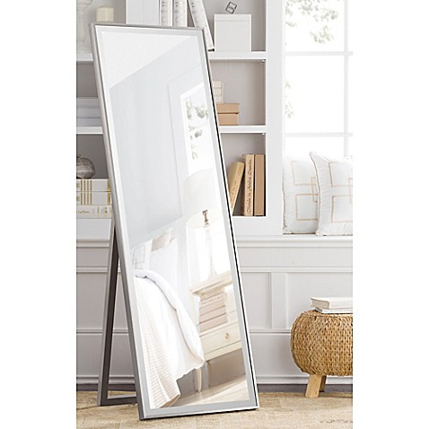 Image Of Cheval 59 5 Inch X 19 Inch Thin Profile Floor Standing Mirror In