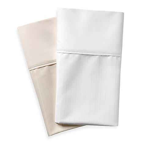 wamsutta cotton deep pocket stripe sheet set bed bath u0026 beyond - Wamsutta Sheets