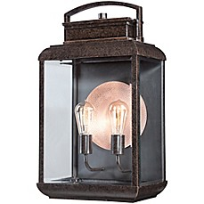 image of Quoizel Bryon Extra-Large Wall-Mount Outdoor Wall Lantern in Imperial Bronze