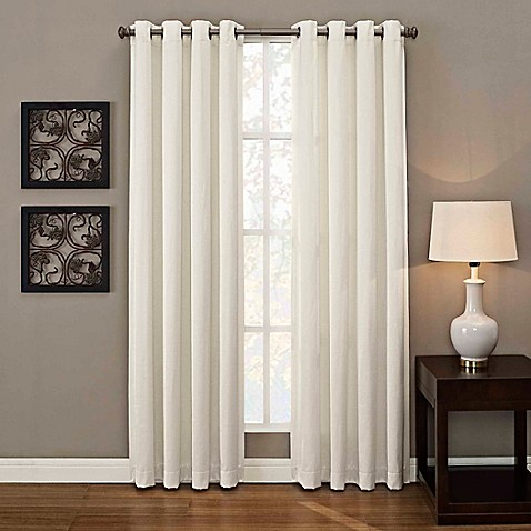 Buy Ashton Grommet 108 Inch Window Curtain Panel In White