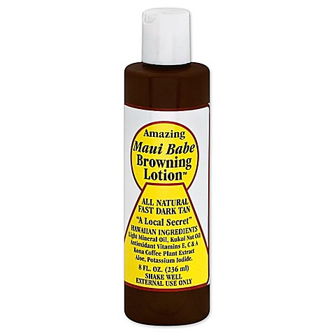Maui Babe 8 oz. Browning Lotion - Bed Bath & Beyond