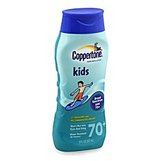 image of Coppertone® 8 oz. Kids Broad Spectrum Sunscreen Lotion SPF 70+
