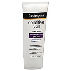 image of Neutrogena® 3 oz.Sensitive Skin Broad Spectrum Sunscreen SPF 60+