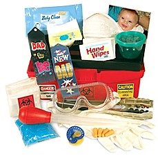 image of Daddy & Co.™ Daddy Diaper Changing Toolbox
