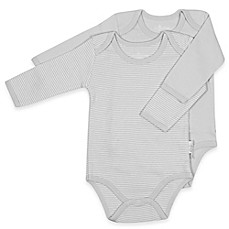 image of Tadpoles™ by Sleeping Partners 2-Pack Organic Cotton Bodysuits in Grey