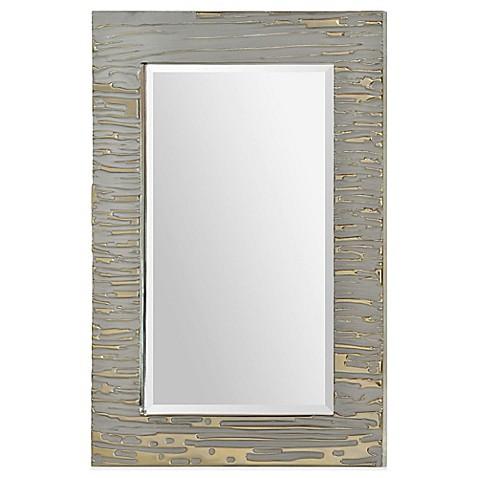 Buy Ren-Wil 24-Inch x 36-Inch Rectangular Foxtrot Mirror ...