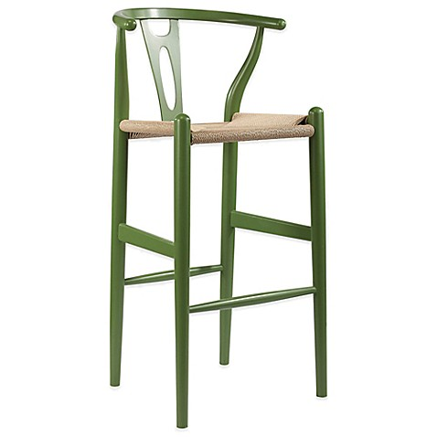 baxton studio wishbone bar stool bed bath beyond