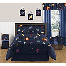 image of Sweet Jojo Designs Space Galaxy Bedding Collection