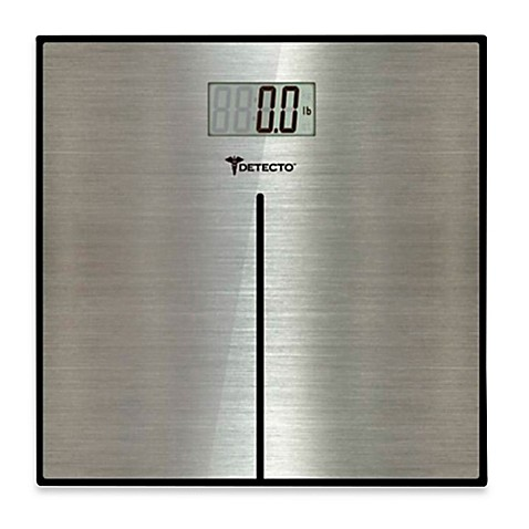 Buy Detecto Stainless Steel Bathroom Digital Scale From Bed Bath Beyond