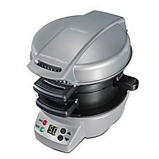 image of Hamilton Beach® Breakfast Sandwich Maker with Countdown Timer and Removable Cooking Plates