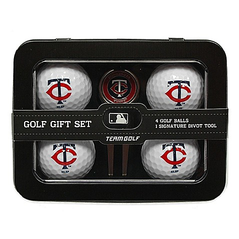 mlb minnesota twins 5 piece golf ball and divot tool set bed bath beyond. Black Bedroom Furniture Sets. Home Design Ideas