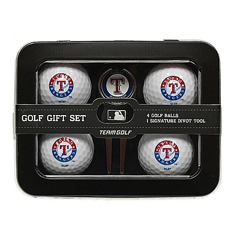 mlb texas rangers 5 piece golf ball and divot tool set. Black Bedroom Furniture Sets. Home Design Ideas