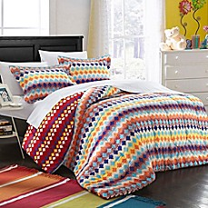image of Chic Home Becky Reversible Comforter Set