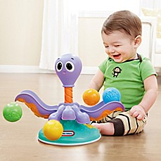image of Little Tikes™ Lil' Ocean Explorers Ball Chase Octopus