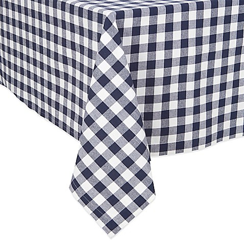 Bon Buffalo Check Tablecloth