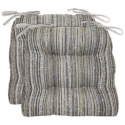 Waterfall Cornerstone Chair Pads Set Of 2 Bed Bath