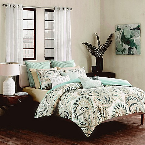 Ink Ivy Mira Duvet Cover Set In Blue Bed Bath Amp Beyond