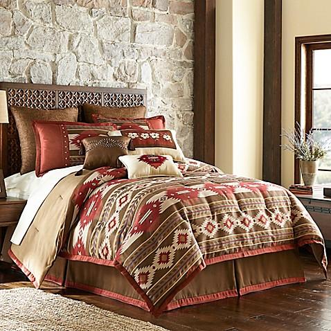 Cheyenne Comforter Set In Brown Bed Bath Amp Beyond