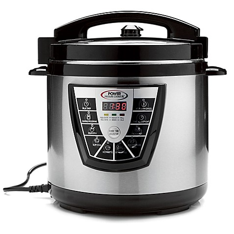 Home kitchen pressure cooker 8 qt electric power xl for Electric pressure cooker fish recipes
