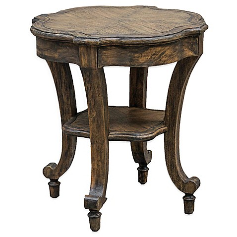 Uttermost Matahari Aged Accent Table Bed Bath Beyond