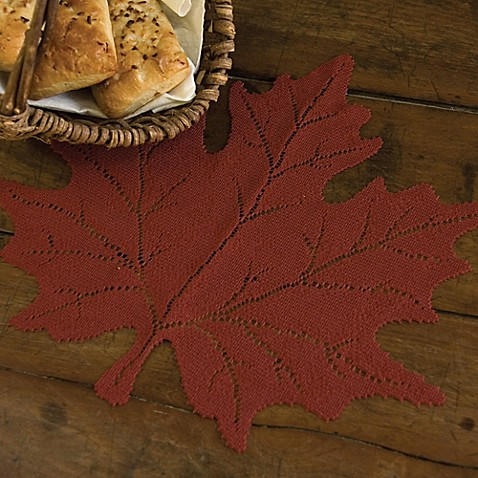 Heritage Lace® Maple Leaf Placemat