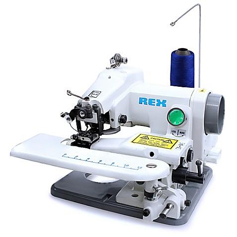 Rex Portable Rx518 Blindstitch Sewing Machine Bed Bath