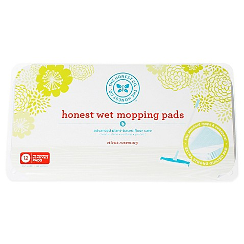 Honest 12 Count Wet Floor Mopping Pads Bed Bath Amp Beyond