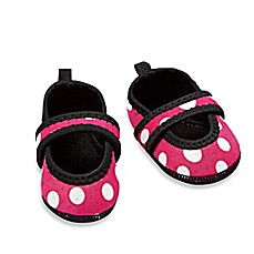 image of nufoot Always-On Polka Dot Slipper in Pink